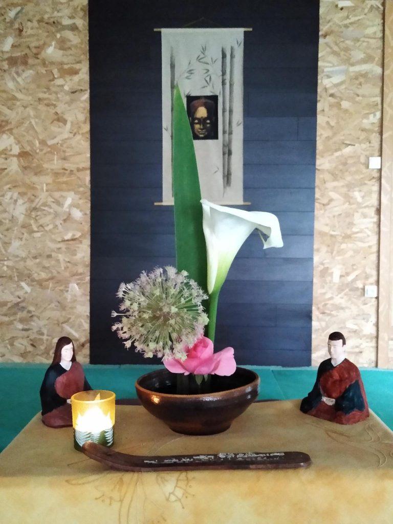 Centre Zen Dumes Landes autel